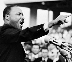 Logo for ESL CIVICS: Martin Luther King Jr. Wiki